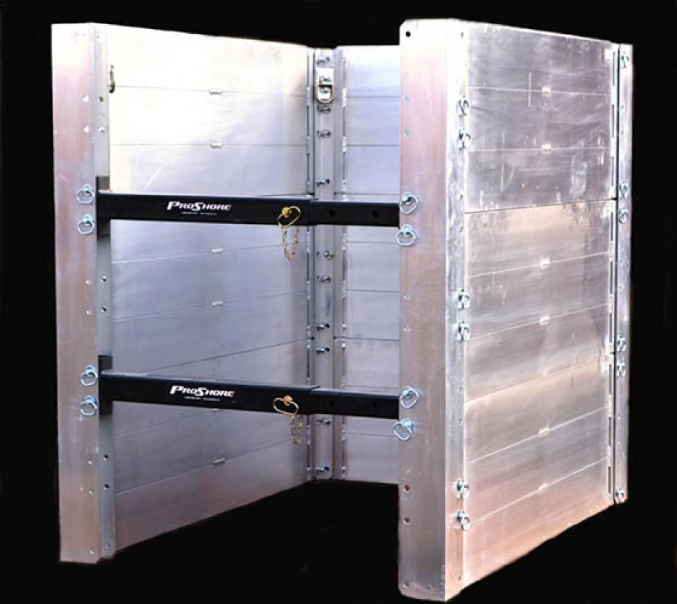 Aluminum Shoring Systems : Aluminum shoring shielding