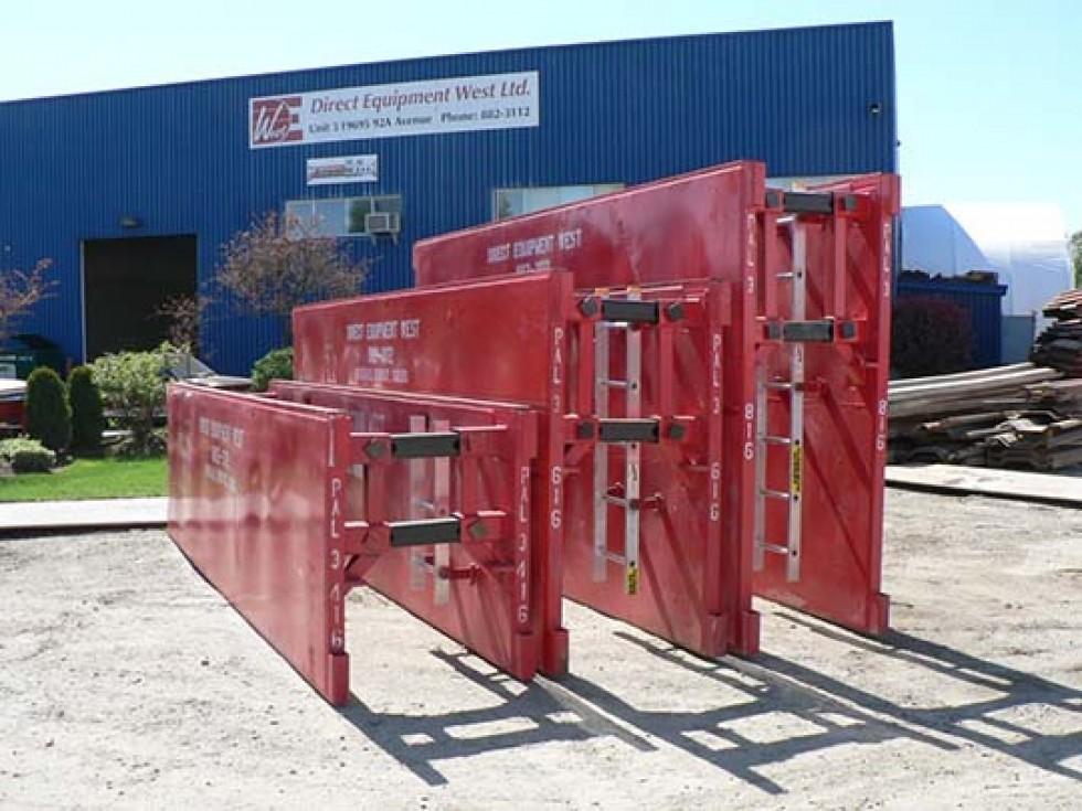 Steel Trench Box : Steel shoring shielding